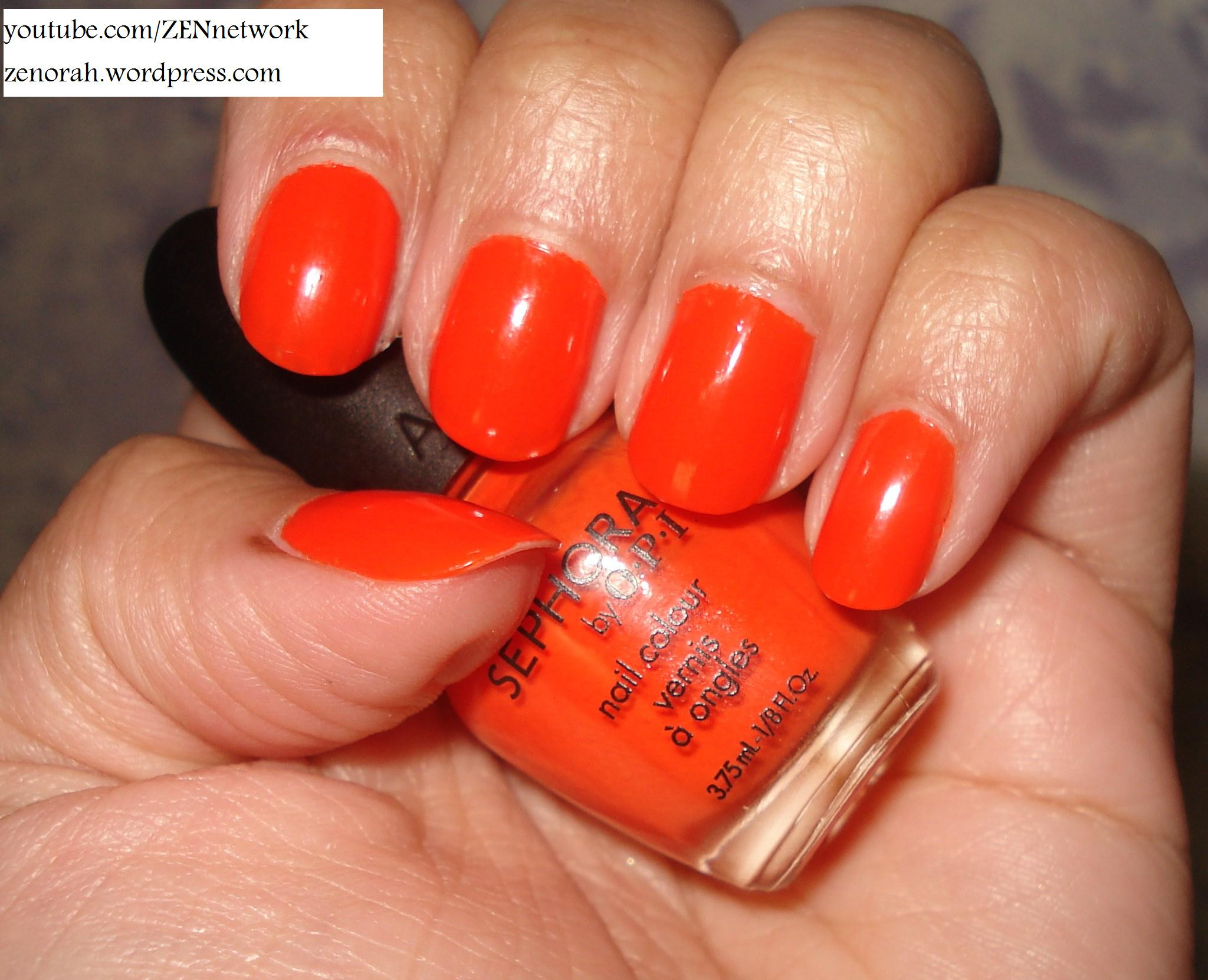 Sephora By OPI Caliente Coral – Zenorah