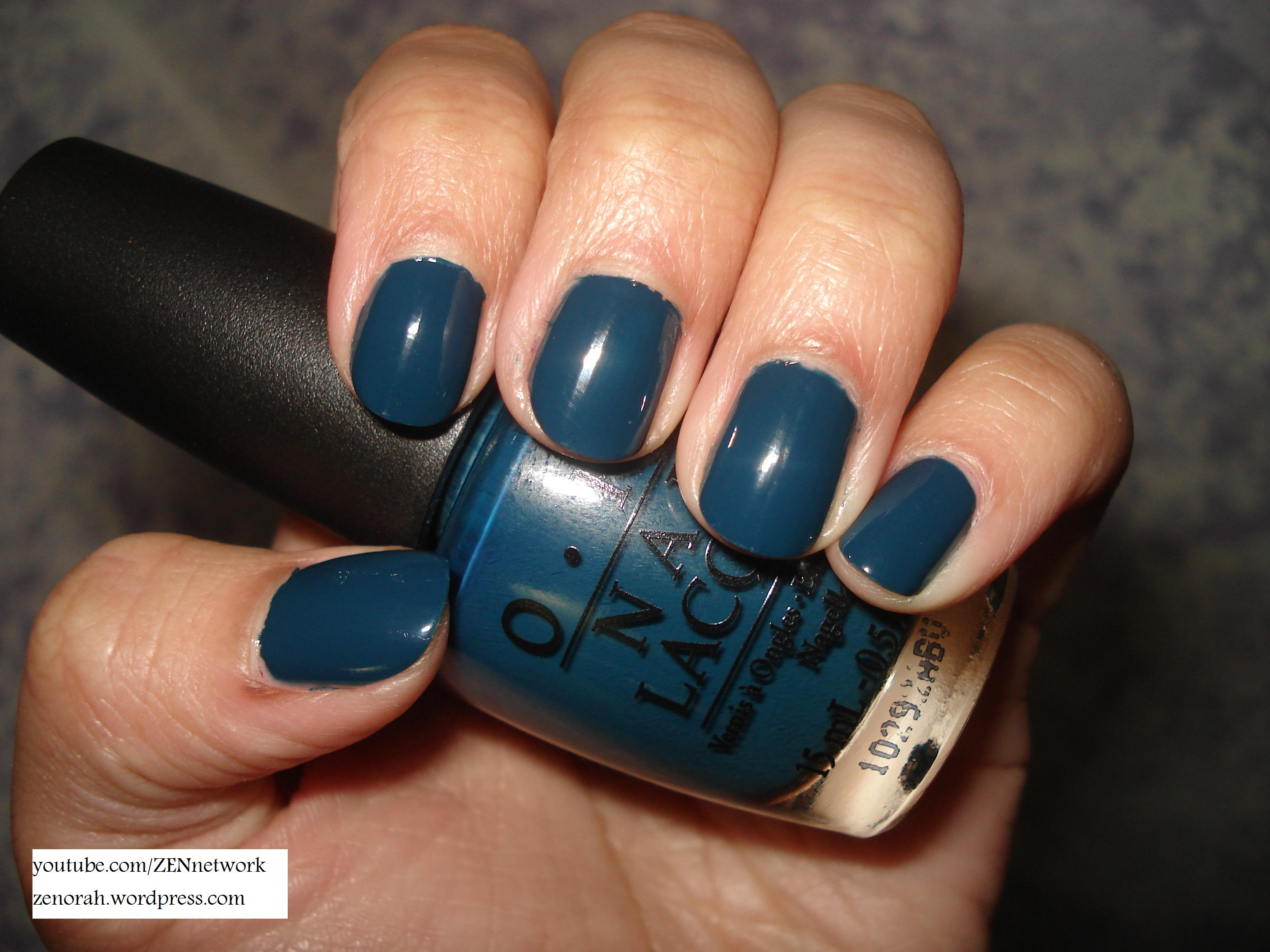 OPI Ski Teal We Drop – Zenorah