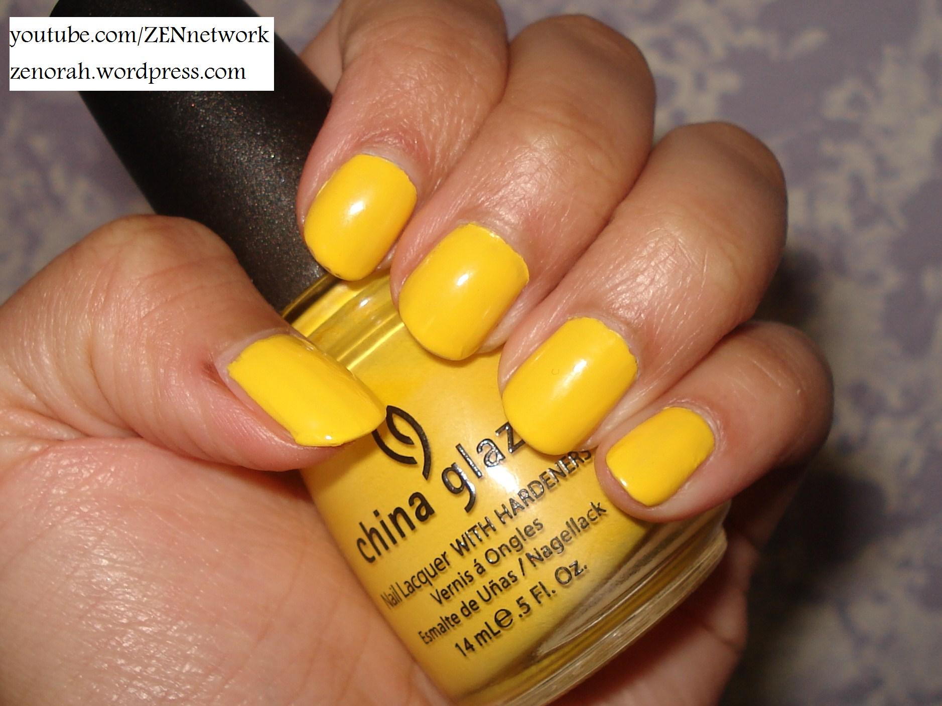 China Glaze – Happy Go-Lucky – Zenorah