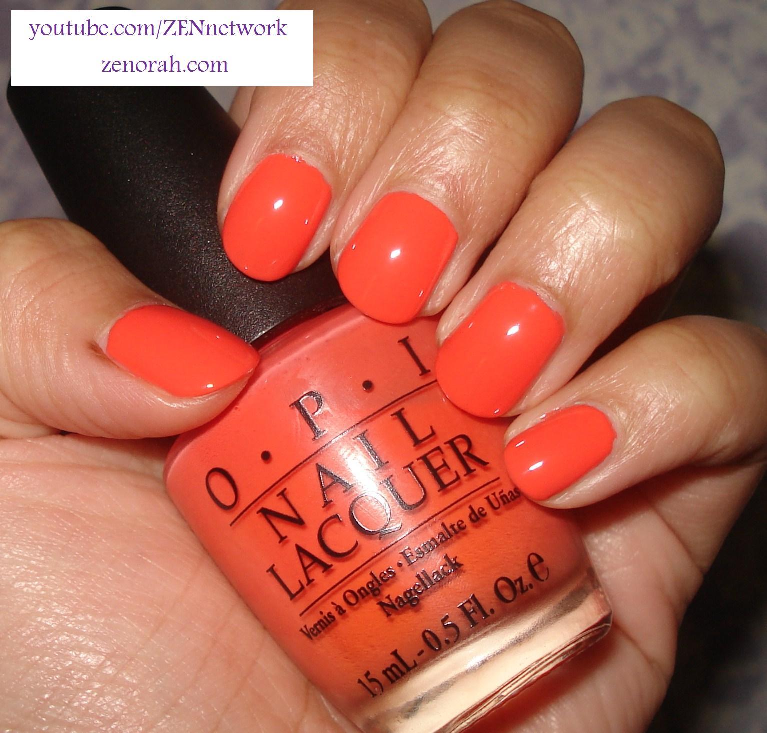 OPI Hot & Spicy – Zenorah