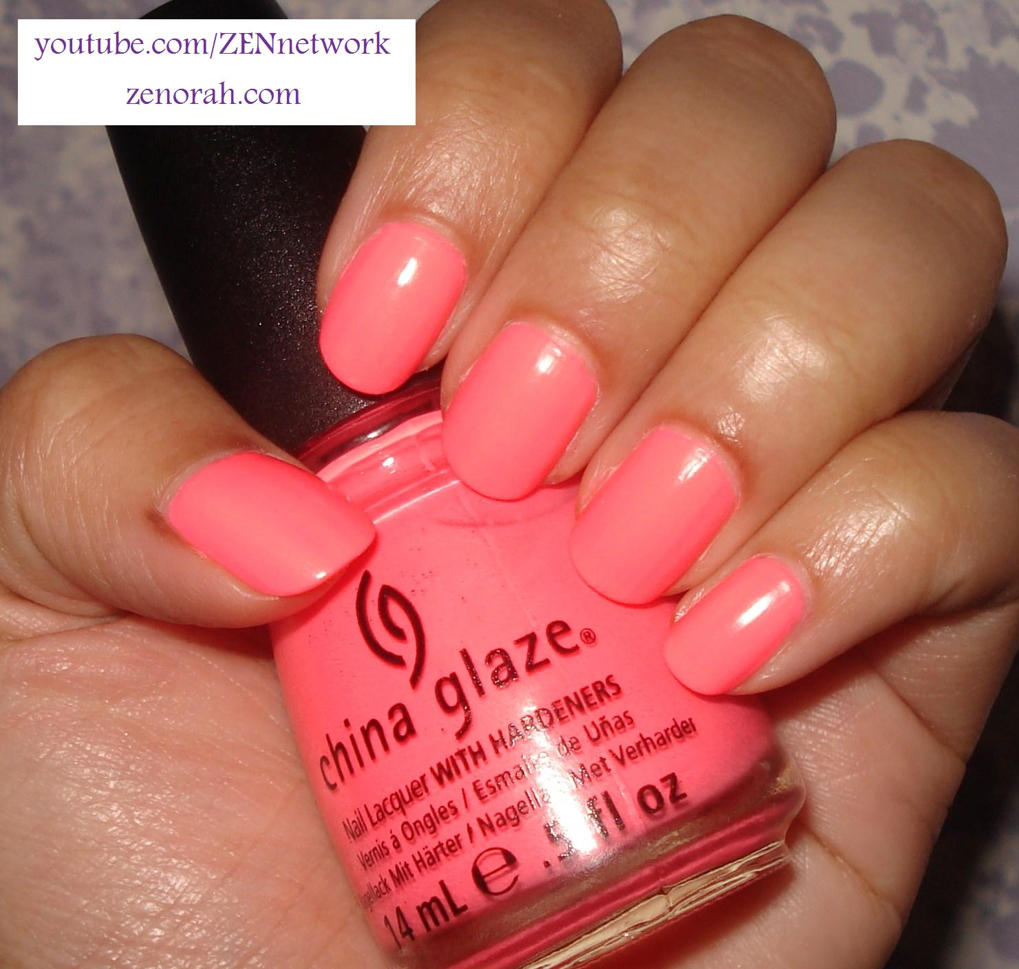 China Glaze Flip Flop Fantasy – Zenorah