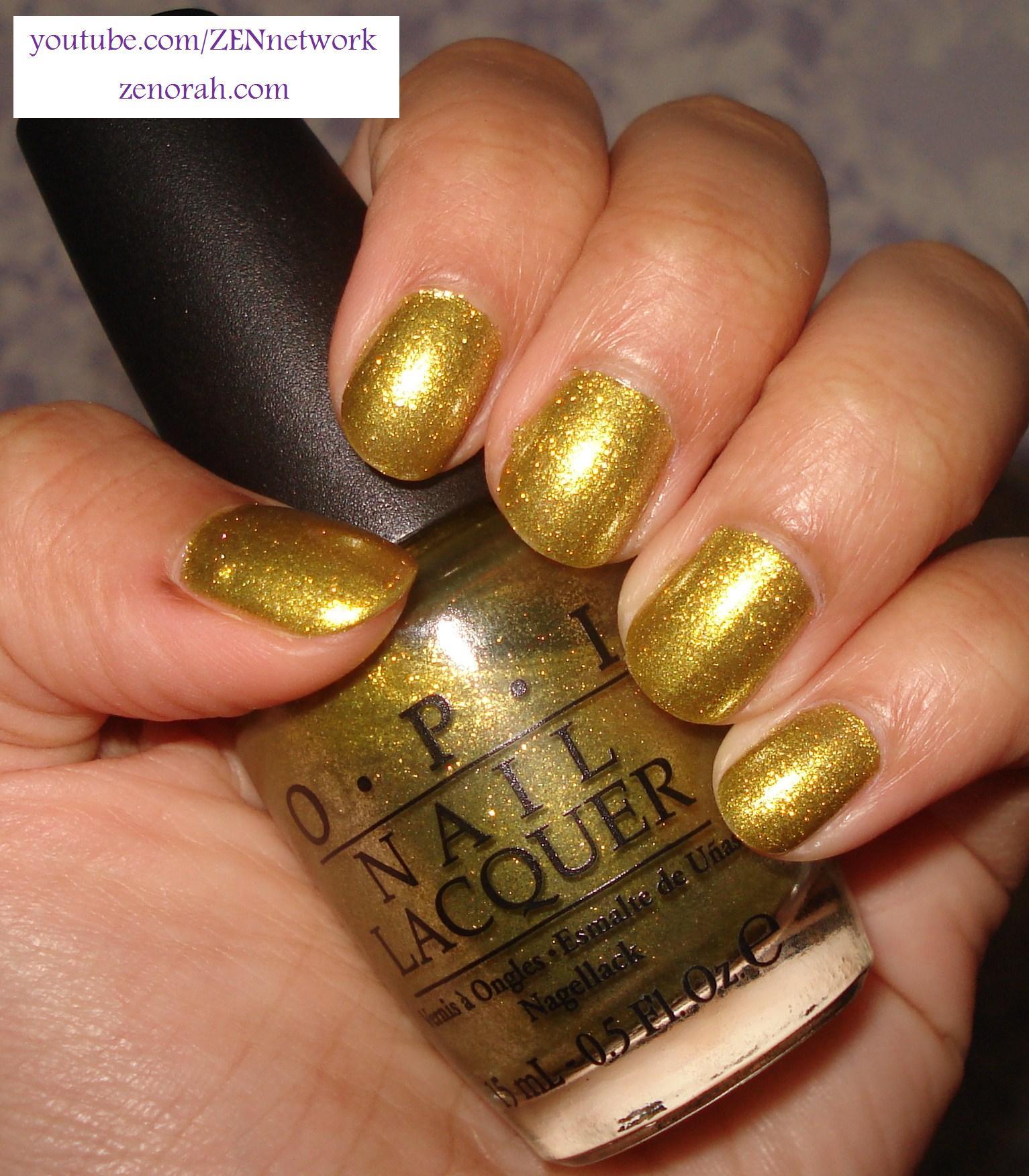Fashion style Nail gold polish opi for girls