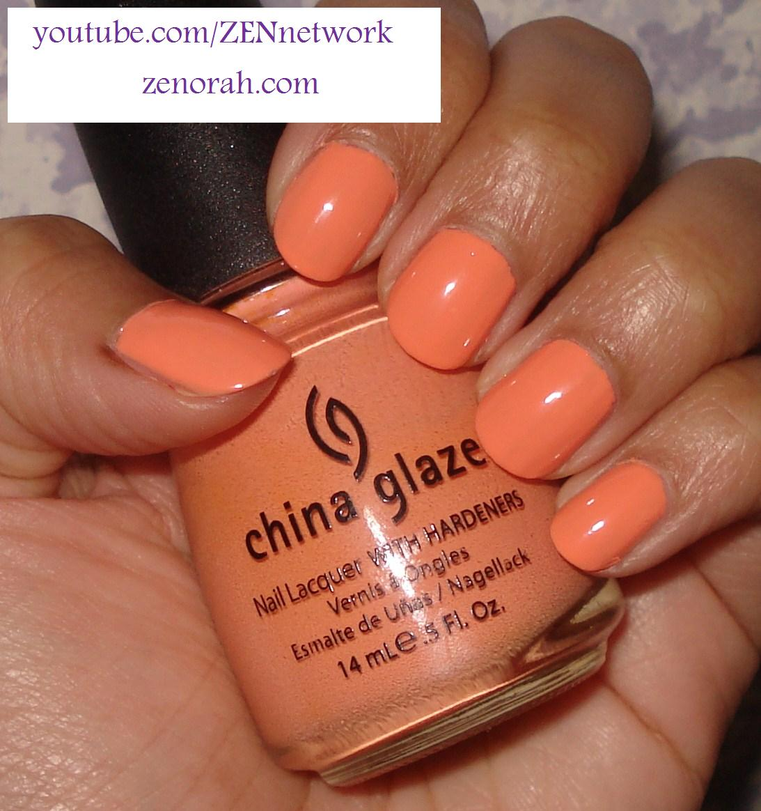 China Glaze Peachy Keen – Zenorah