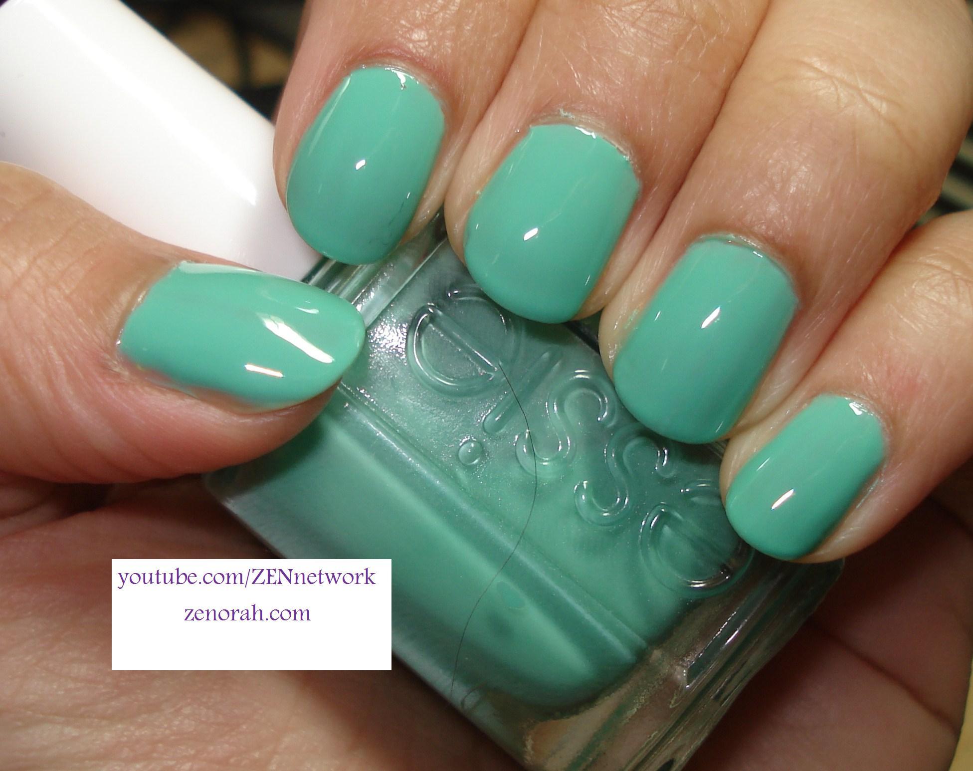 Essie Turquoise and Caicos – Zenorah
