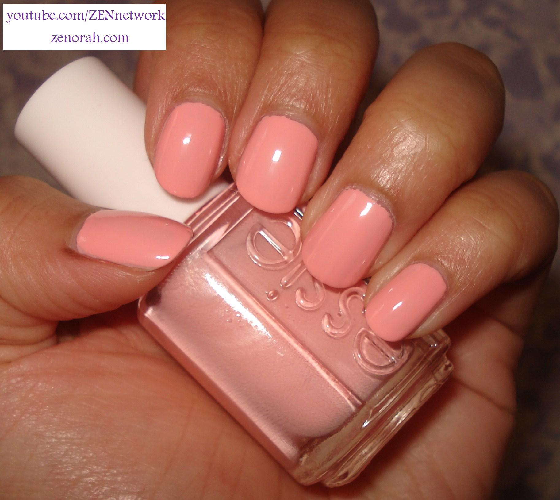 Pastel Orange Nail Polish Essie: Essie Nail Polish