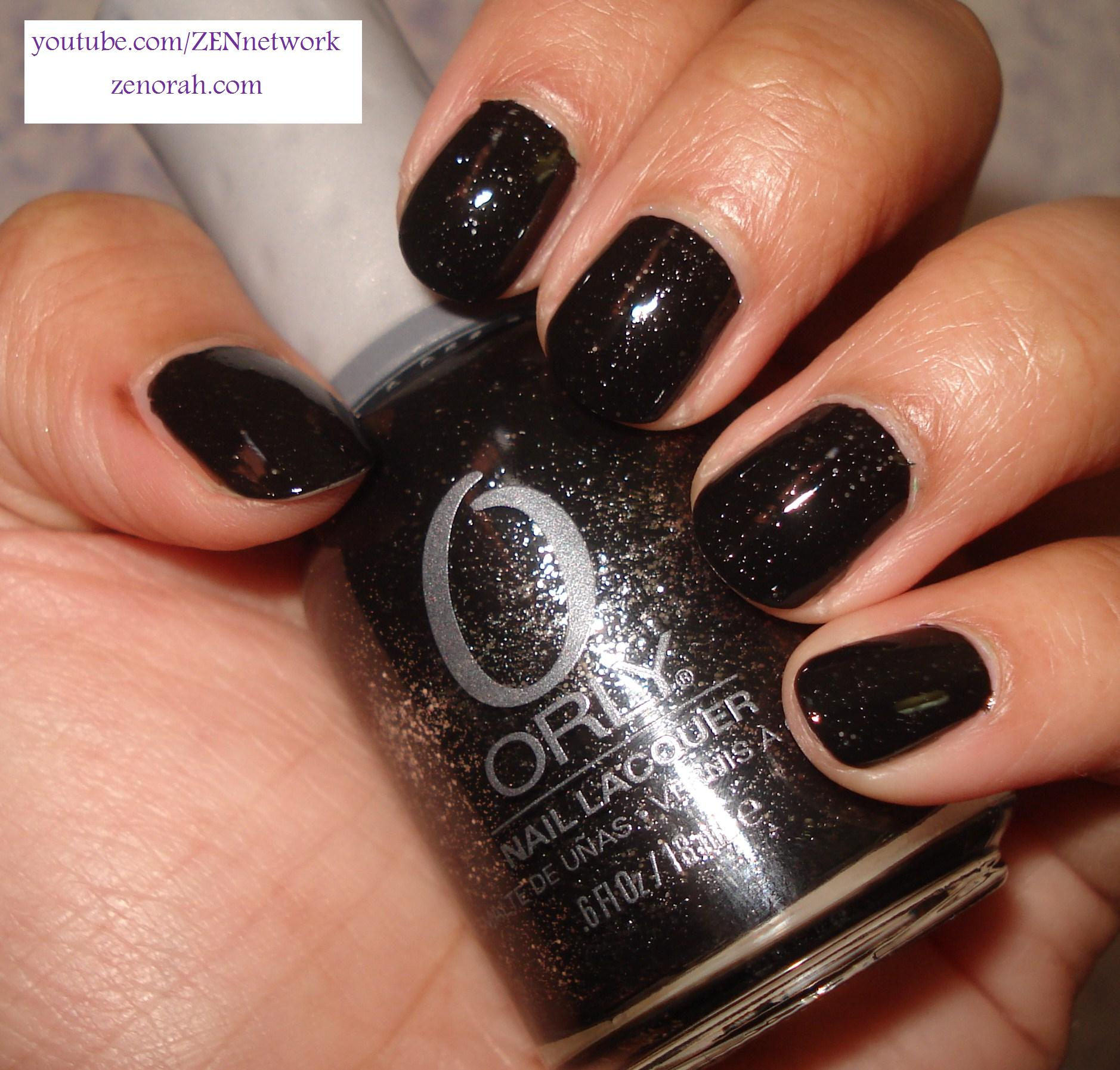 Que Significa Black Nail Polish: Orly Goth