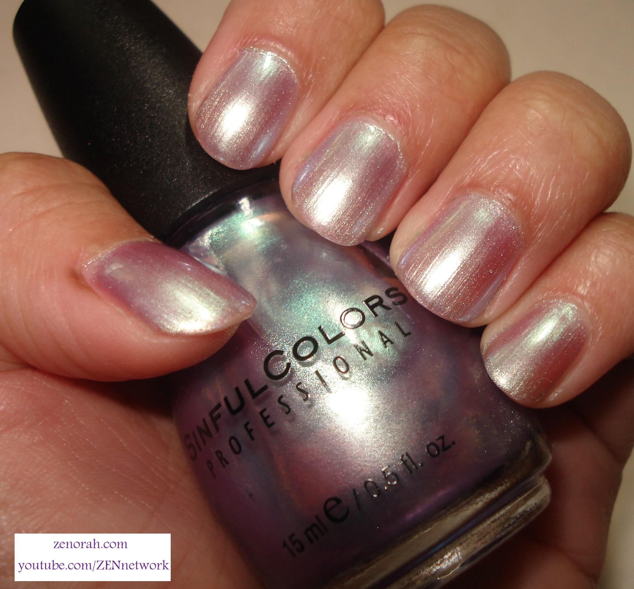 Pearl Nail Polish: Sinful Colours Let Me Go
