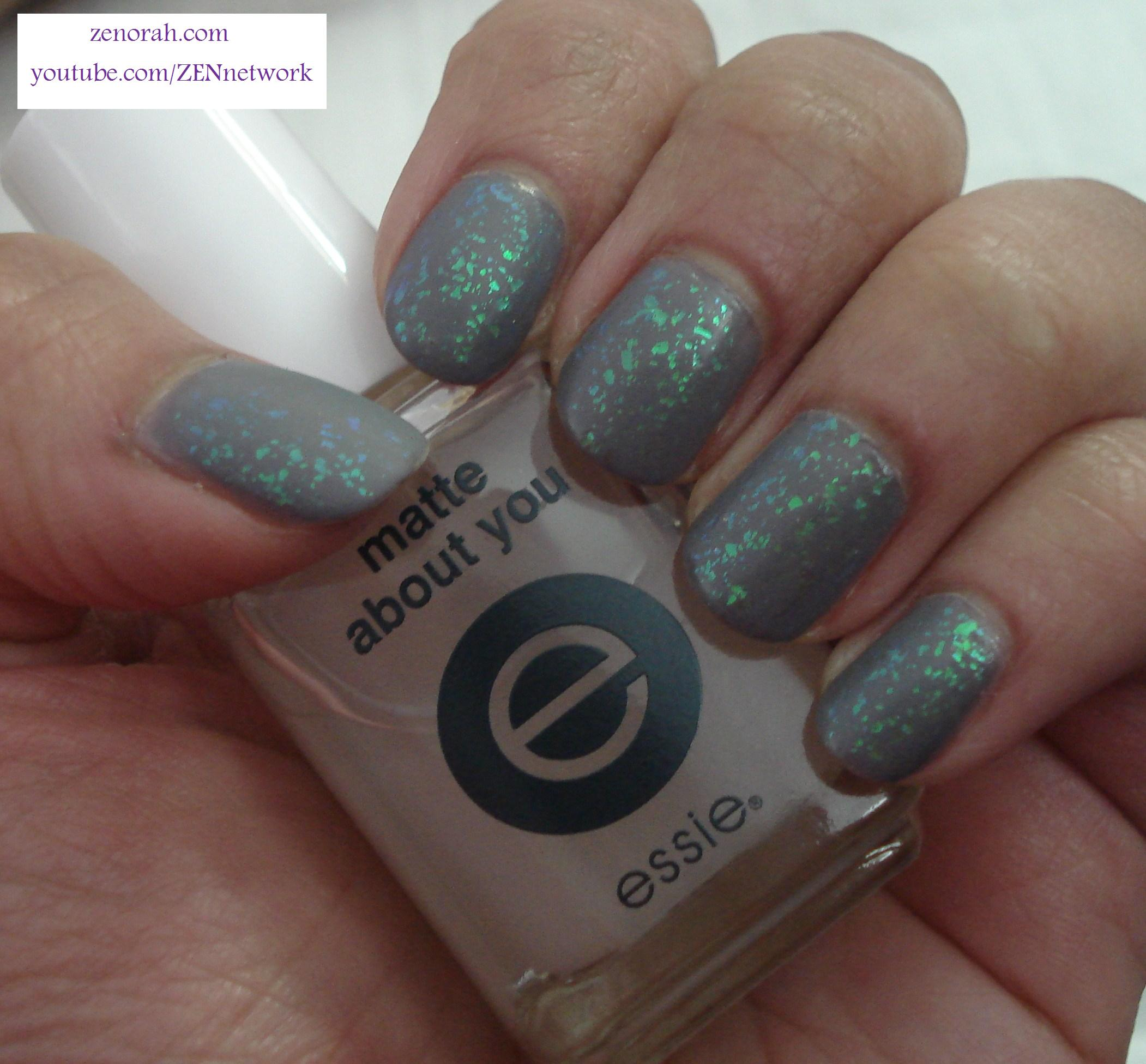 Essie Chinchilly & Zoya Maisie (Mattified)