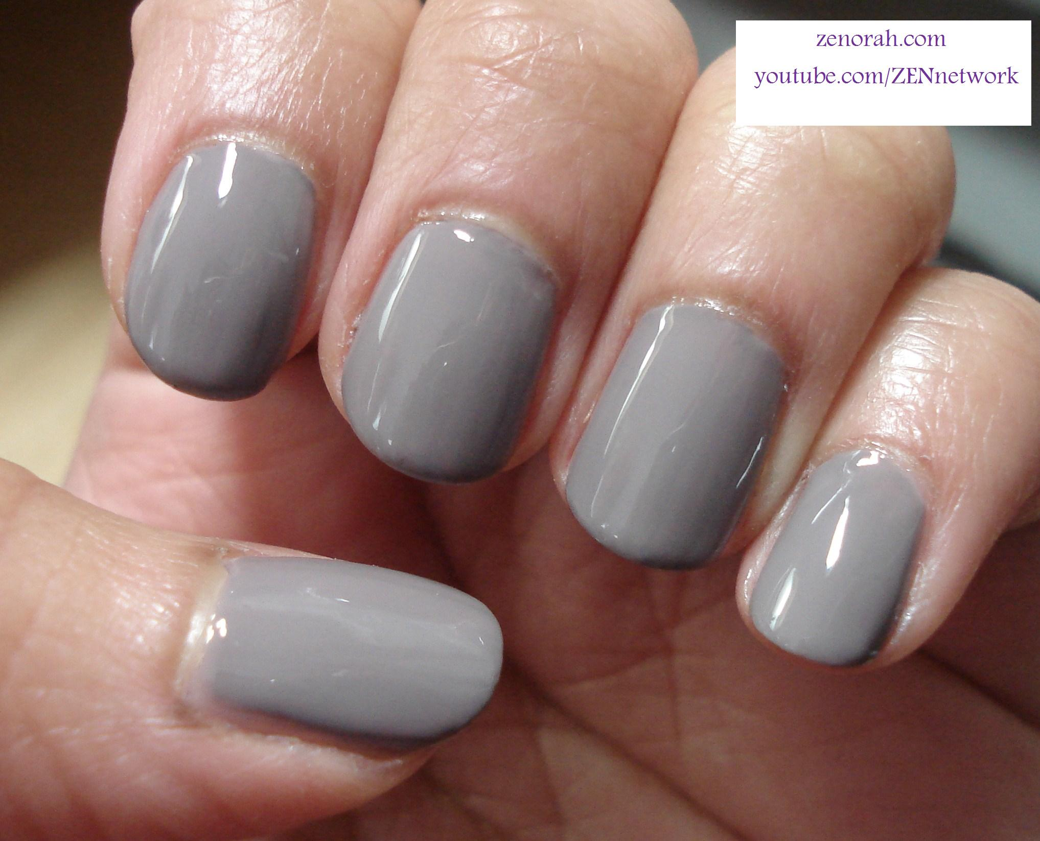 Essie Chinchilly & Zoya Maisie (Mattified) – Zenorah