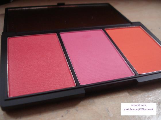 sleek 3 pan blush pumpkin
