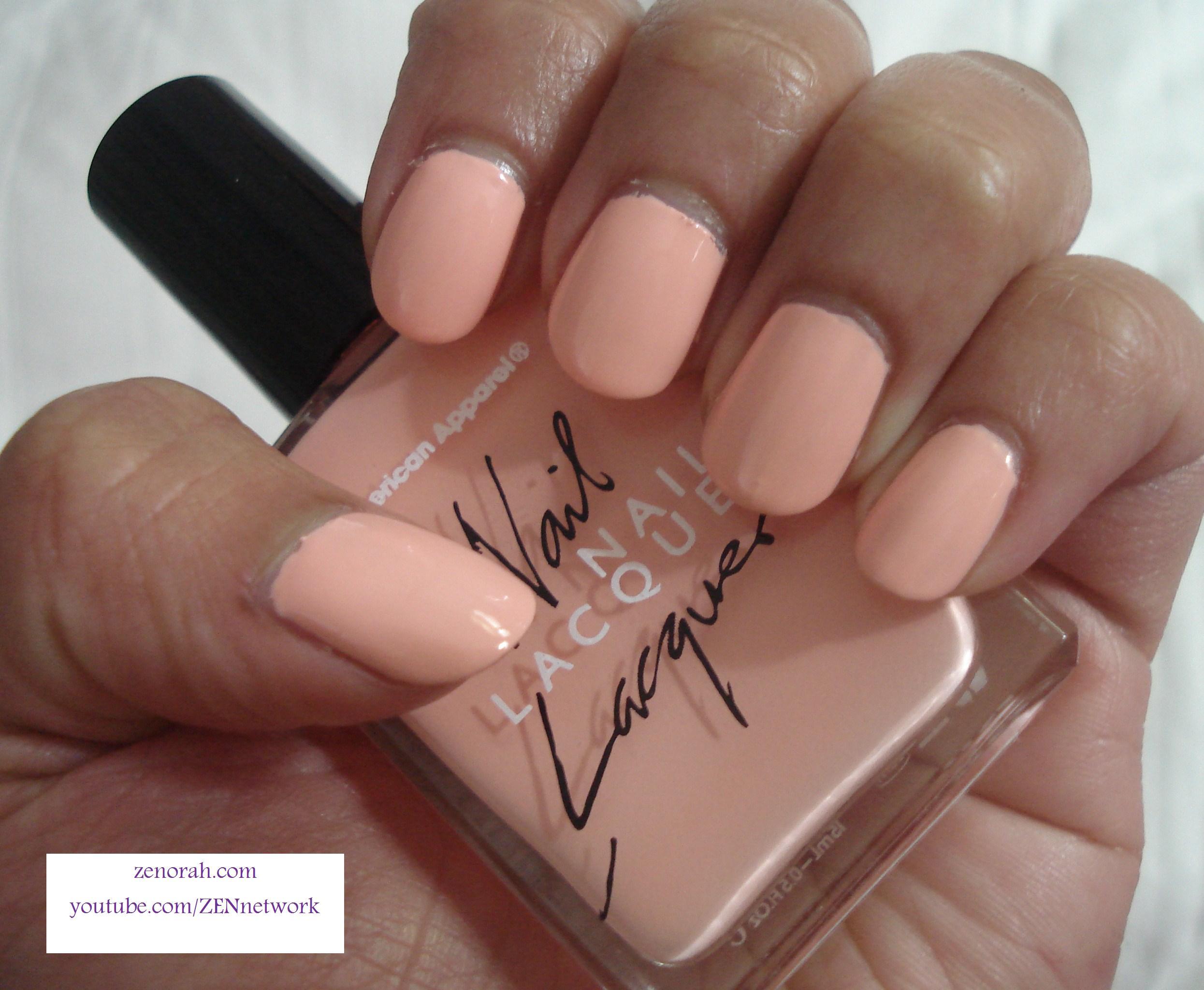 American Apparel \'Summer Peach\' – Zenorah