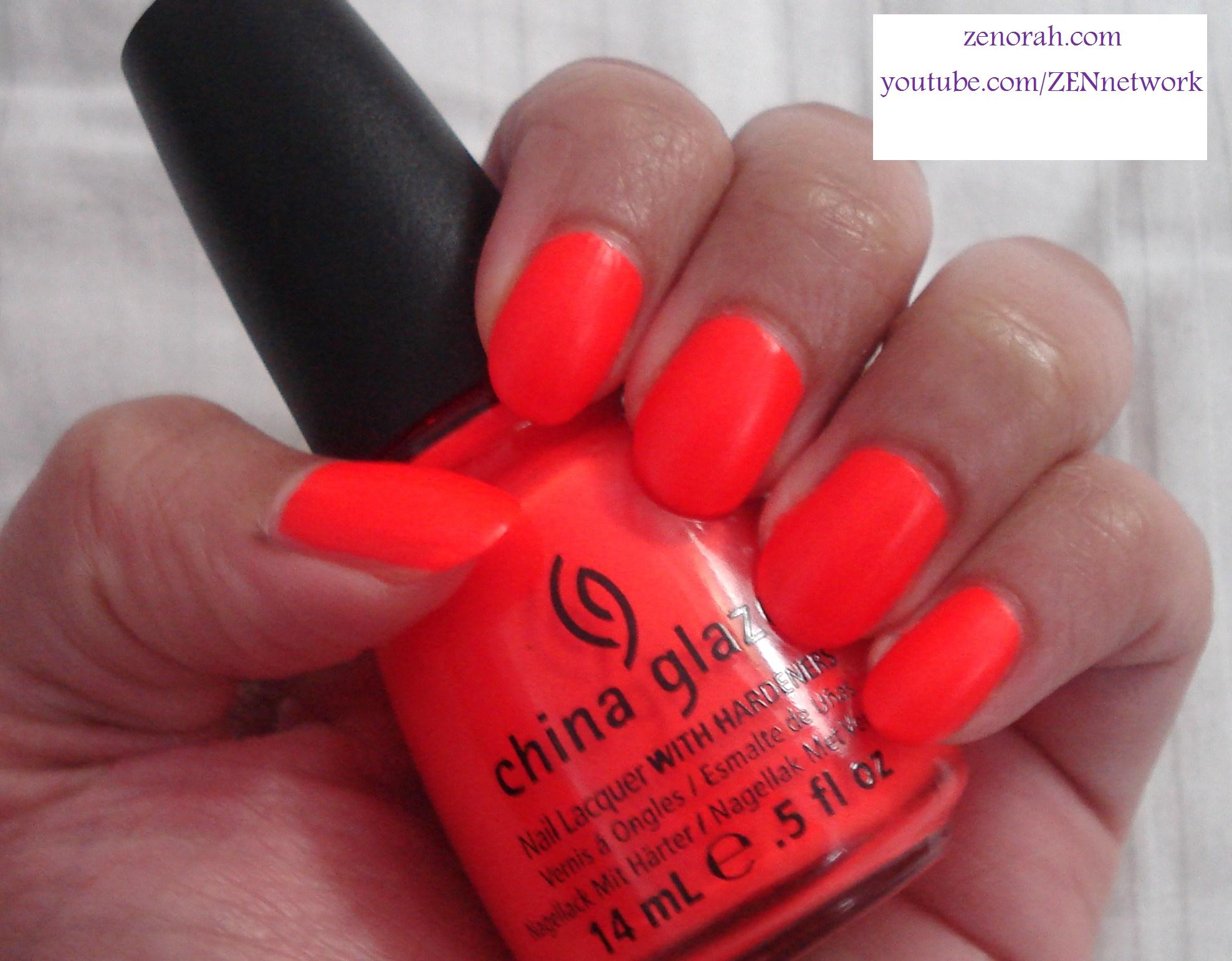 China Glaze \'Japanese Koi\' (Neon) – Zenorah