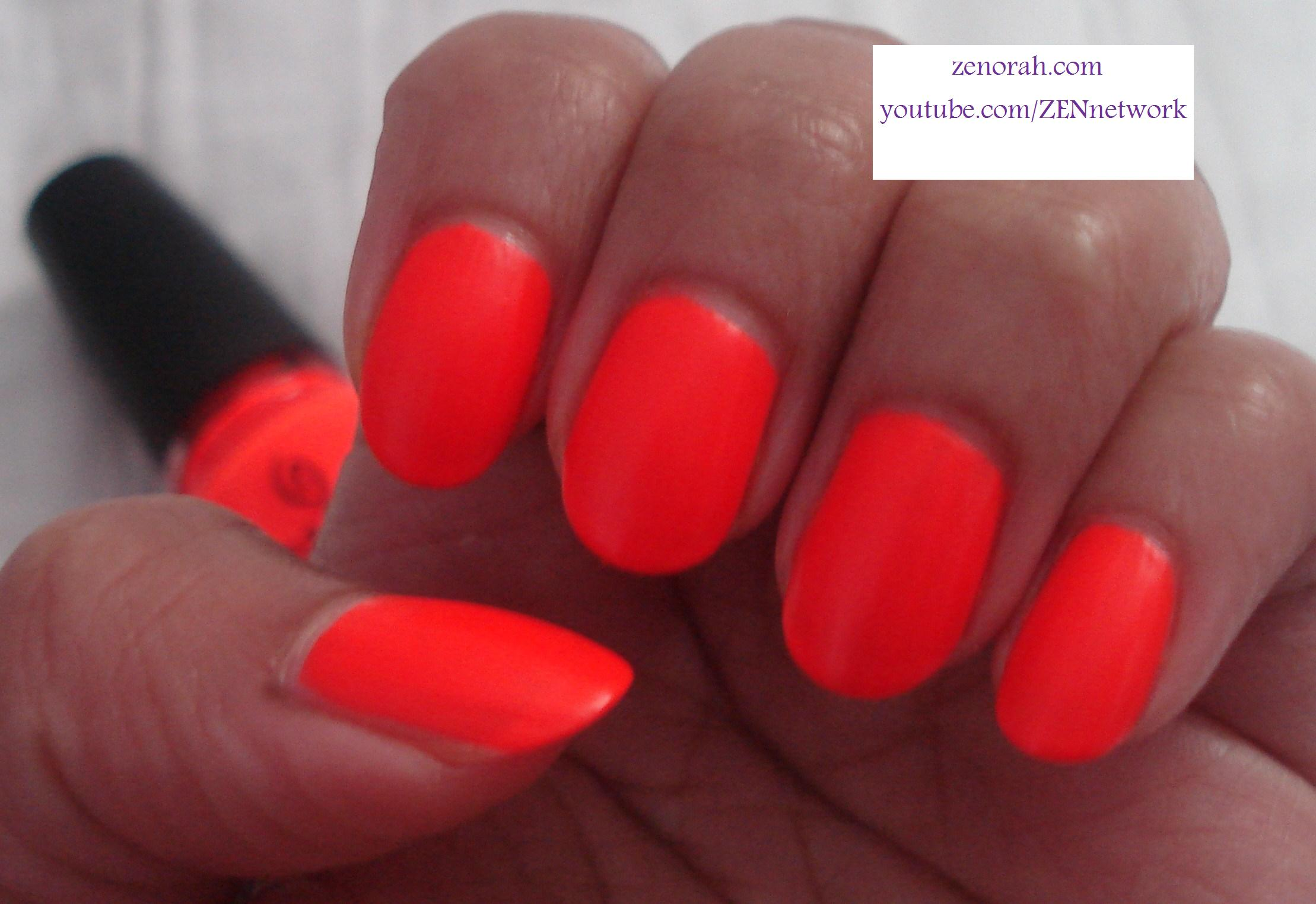 China Glaze Japanese Koi Neon Zenorah