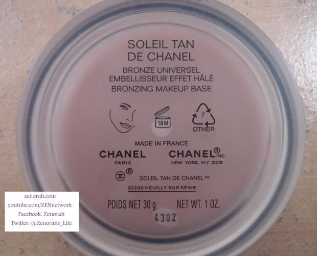 chanel bronze universel chanel soleil tan de chanel