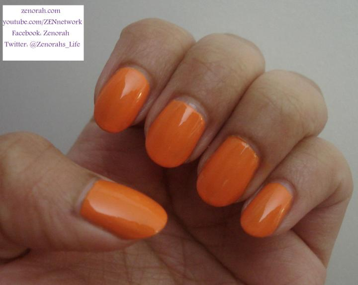 china glaze papaya punch