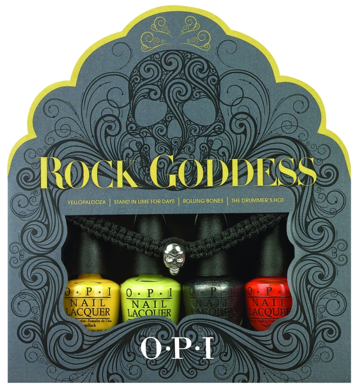 opi rock star halloween mini set