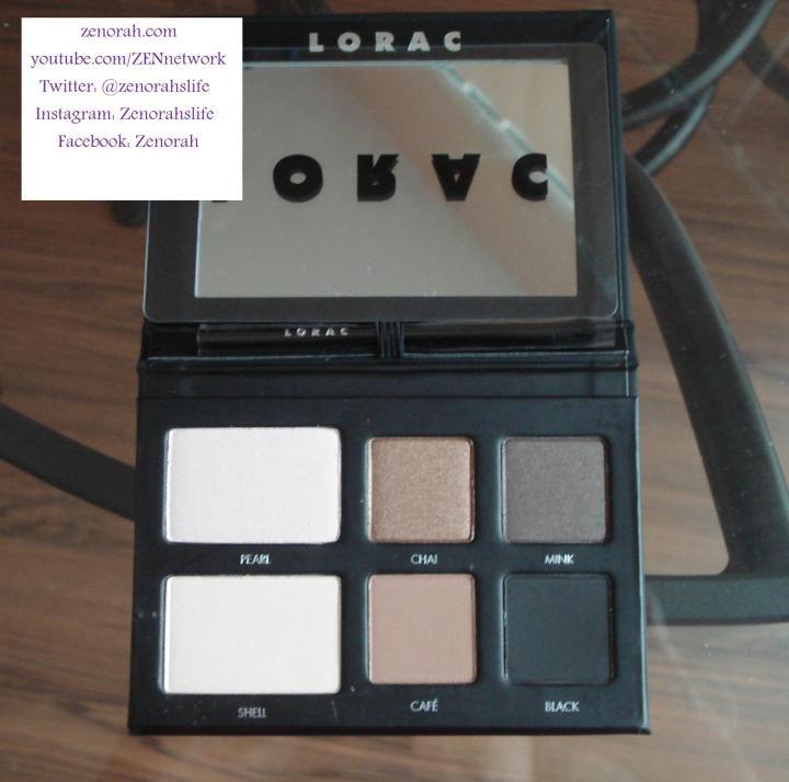 Lorac pro to go palette