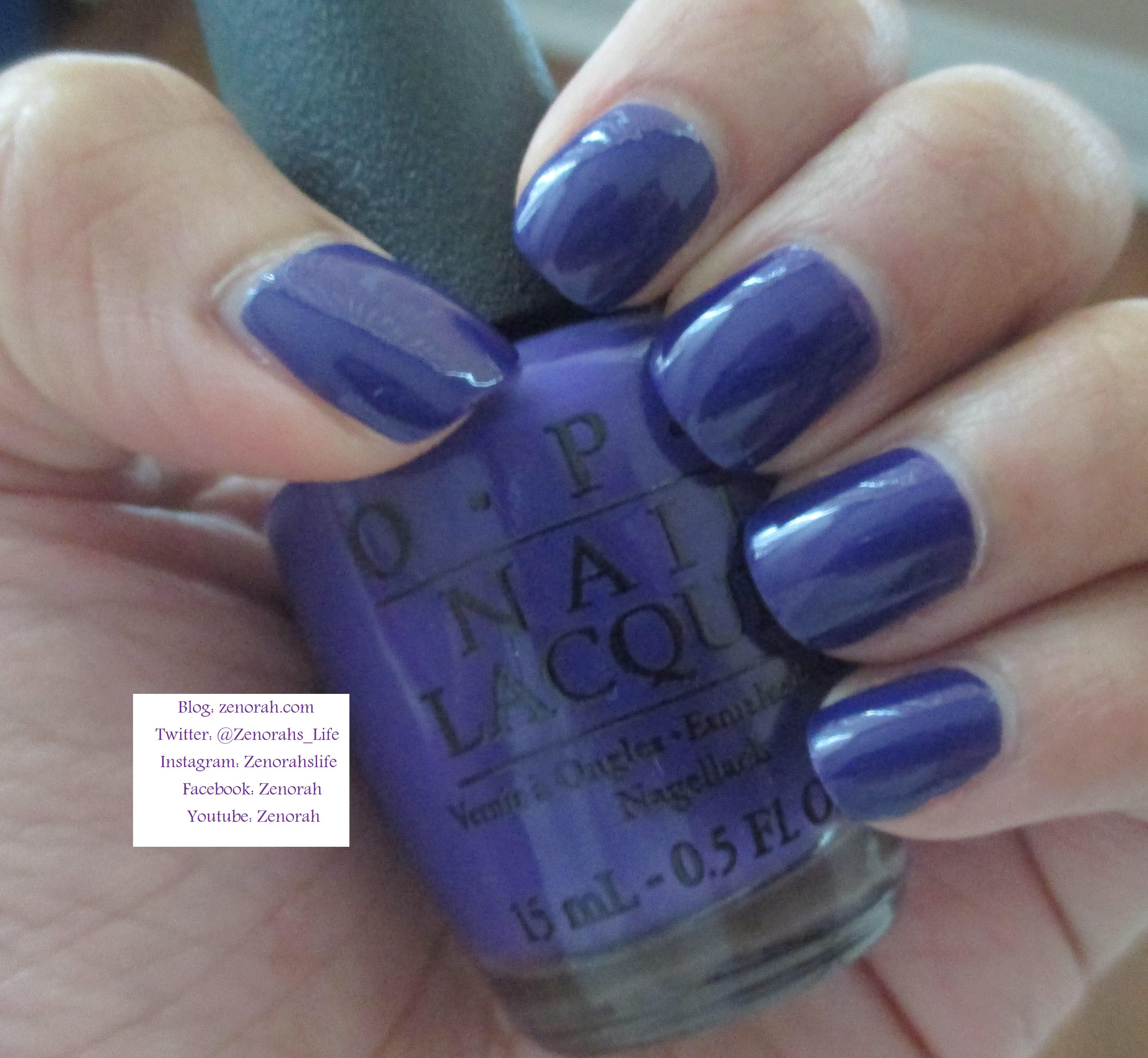 OPI \'Do you have this color in Stockholm?\' – Zenorah